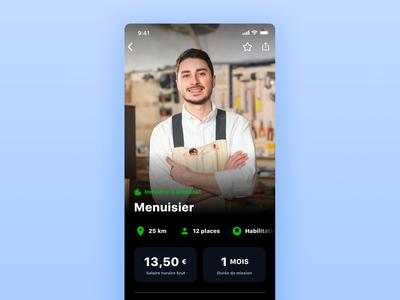 iziwork app MissionDetailIteration