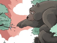 BIG BEAR - Coloring Part 1
