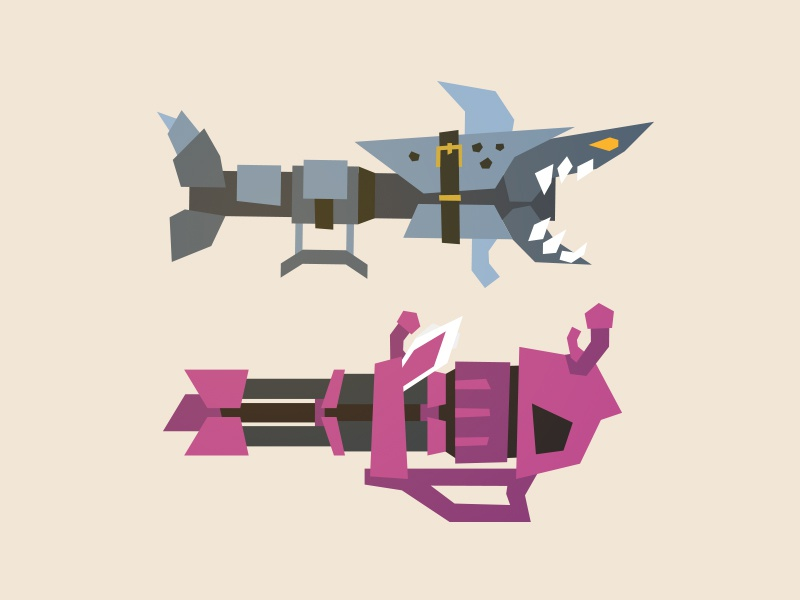 League of Legends - Fishbones & Pow-Pow by Tom Sayer on Dribbble