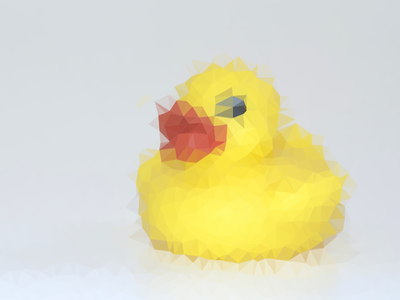 Introducktion duck triangular delaunay processing