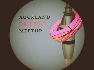 Auckland Dribbble Meetup dribbbleakl cheetah3d camerabag2 auckland bagel cream cheese salmon skytower trend rough slab