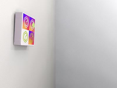 Warhol-ish riff logo wasabicube canvas instagram subdivisionmodeling cheetah3d