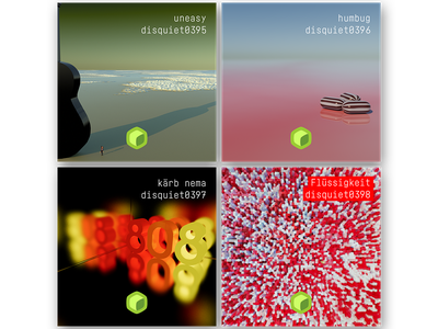 disquiet covers music cheetah3d disquiet