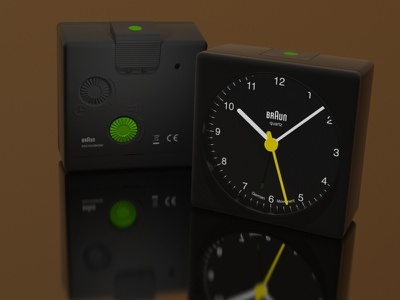 More alarming still bnc002 braun wip 3d cheetah3d alarm clock bnc002bkbk