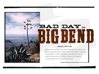 Big Bend Editorial big bend texas medical magazine editorial