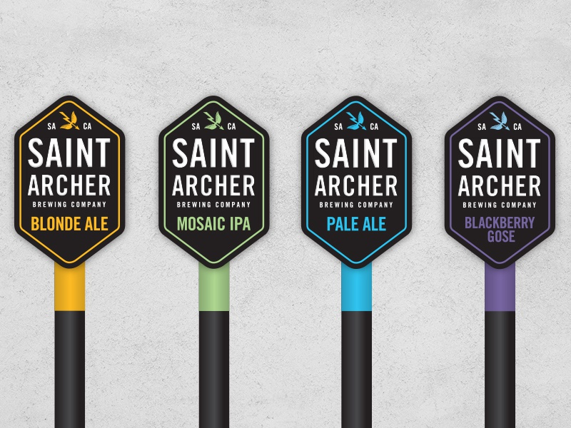 Tap Handle Vectors craft beer bar beer tap handle