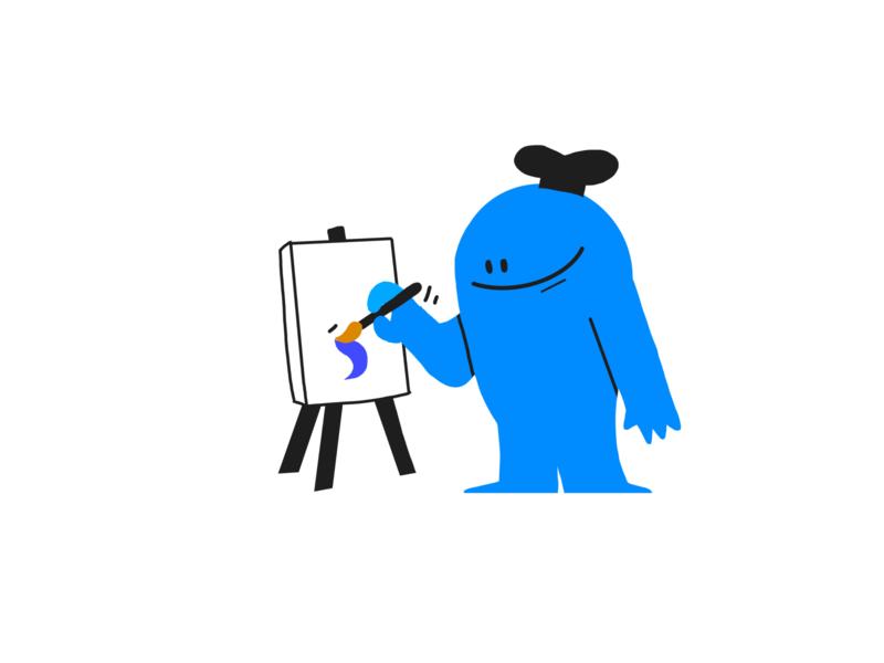 Artiste artist art ipad character design colors procreate design character thecamiloes illustration