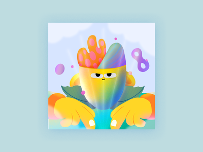 Discovery science discovery ipad color character design music colors character procreate thecamiloes illustration