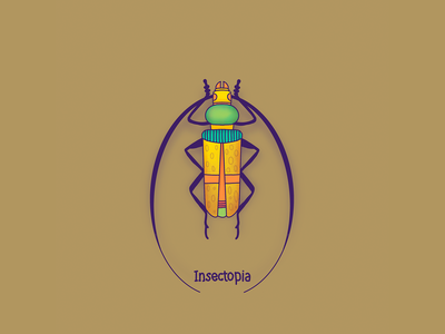 Bug 2 bug insects insect character design colors design character procreate thecamiloes illustration