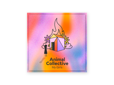 Animal Collective - My Girls ipad color character design music colors design character procreate thecamiloes illustration