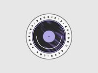Record Club Patch