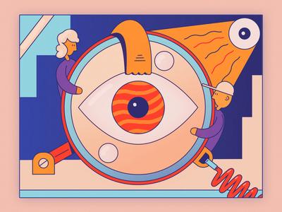 Monocle Eye