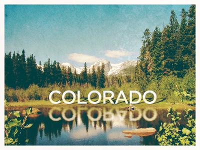 Favorite Place on Earth : Colorado colorado rebound favorite place postcard