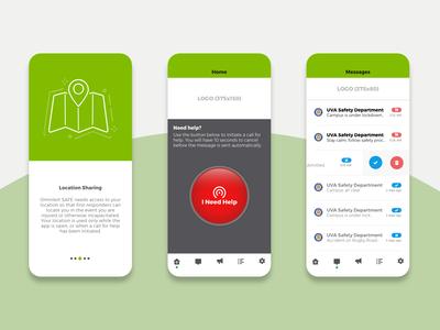 Safety App Design