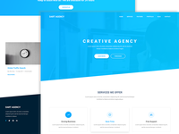 Dart Agency – PSD Template