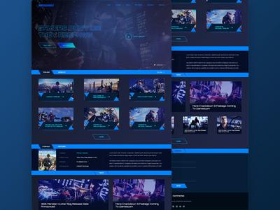 Game Landing Page