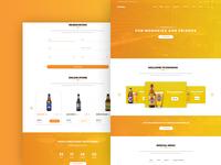 Drinkko – PSD Template