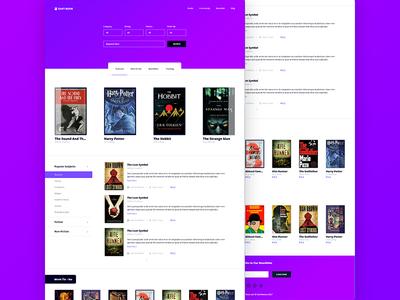 Book Store – PSD Template