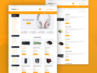 Computer Store – PSD Template