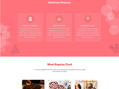 Landing page Continue
