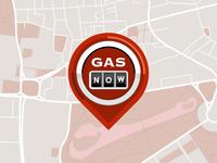 Gas Station Social Media App Logo
