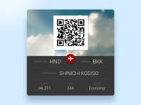 Adventar03 - Passenger Card