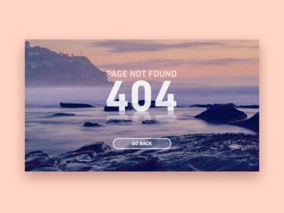 404 page - Daily UI 008 404 dailyui website ui page web
