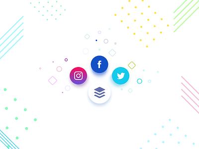 Social Share - Daily UI 010 dailyui social share ui page web