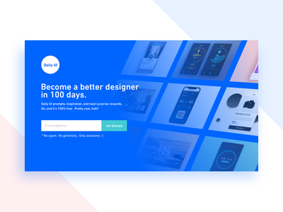 Subscribe - Daily UI 026 screen website web page ui design dailyui