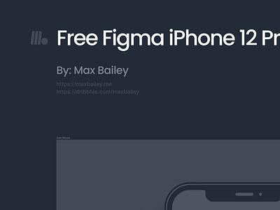 Figma Free Download - iPhone 12 Pro (Light & Dark) modern clean grey gray shadow flat minimal white clay dark light pro download mockup 12 iphone free download freebie figma