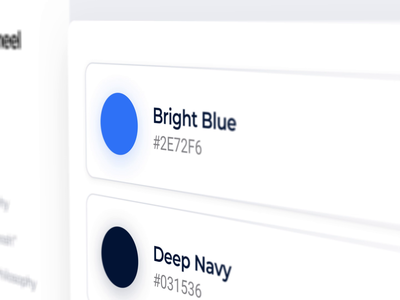 Style Guide in Progress vector simple lockup 2020 2019 blue typography brand design ux ui clean minimal modern animation branding style guide rebrand