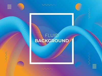 Fluid Background Design design calligraphy marker illustration lettering identity branding company branding typeface fluid background design fluid background design