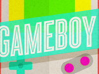 Gameboy 90's nostalgia badge - Hay-Day Project by Maia.
