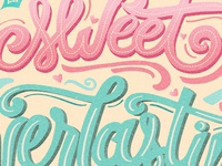 Lettering project for my skillshare class with seanwes.