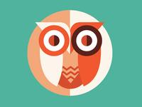 Owl for a logo