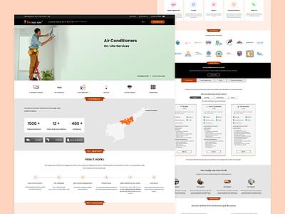 TecSquads Website Redesigning web ux figma icon branding logo ui illustration design