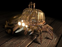 Steampunk Crab