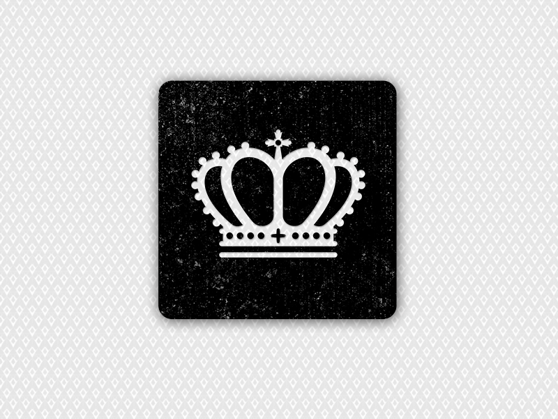 Crown crown dice casino icon vector raster illustrator photoshop