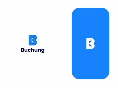 Buchung Logo logotype logo design logo design app ui app ui design iosapp illustration design colourful