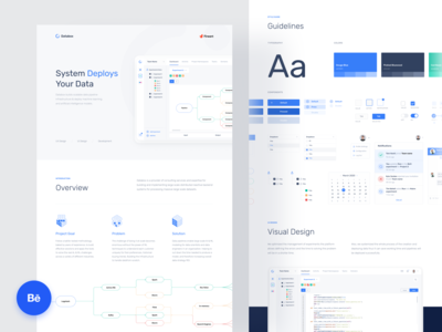 Data Pipeline Dashboard Behance Casestudy