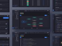 Data Pipeline Dashboard Dark