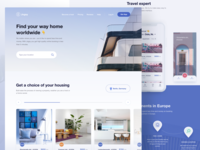 Homepage design for Jogsy