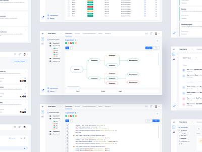 Data Pipeline Dashboard webapp design analytics dashboard ux ui dashboard datapipeline data design