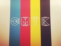 CMYK Wall