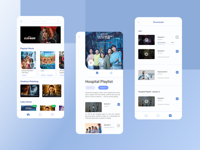 Movie Streaming Apps ux apps streaming movie