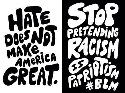 Black Lives Matter Posters justice signs black and white protest poster poster protest art protest black lives matter blm typography hand lettering lettering type illustration