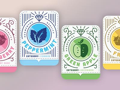 Augmentos Cards mentos illustration fruit ar cards