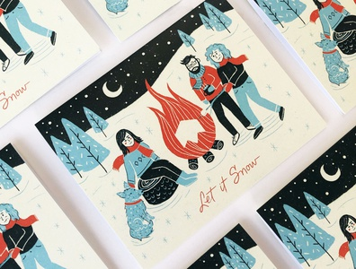 Warm Wishes   Jetpack Christmas Card