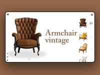 Vintage Armchair UI
