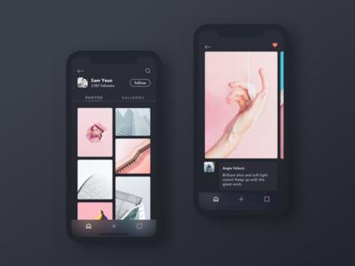iPhone X - User Profile